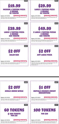chuck e cheese coupons chuck e cheese printable coupons august 2018 free tokens and tickets