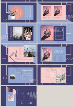 fashion color blocks geometric stitching minimalist lines ppt template is part of Powerpoint design templates - Web Design, Slide Design, Book Design, Media Design, Graphic Design Posters, Graphic Design Inspiration, Graphic Design Layouts, Brochure Design, Branding Design