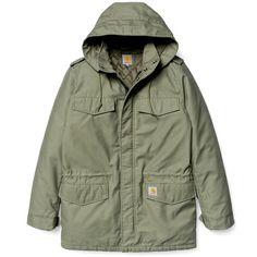 Carhartt WIP Hickman Coat http://shop.carhartt-wip.com:80/es/men/jackets/I013607/hickman-coat