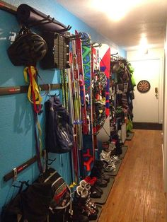 Ikea snow gear storage! Perfect location for skiing, hiking and... - VRBO