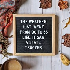 """Modern Texas Living on Instagram: """"Seriously though, the high was 88 today, low is 46. Tomorrow's high is 49. Is this just Texas? Looks like we may have a day of fall and…"""" Good Quotes, Cute Quotes, Funny Quotes, Inspirational Quotes, Hilarious Sayings, Motivational, Mommy Quotes, Quirky Quotes, That's Hilarious"""