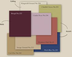 2010 Color Trends - Pitch Blue by Farrow and Ball - beautiful color
