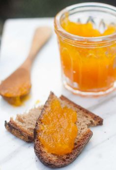 Pumpkin jam - Make fall extra-tasty with a pot of this colorful jam on your breakfast table!