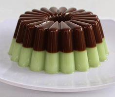 RESEP PUDING GREEN TEA CHOCOLATE  - siapa yang tidak tahu resep agar-agar , bentuk nya kenyal dan juga manis menjadi daya tarik dari re...