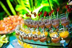 Brazilian dessert table.