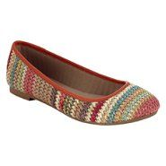 Route 66 Women's Elyssa Woven Flat - Multi at Kmart.com- Why don't we have any Kmart stores near us?!
