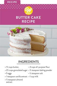 Fun Baking Recipes, Easy Cake Recipes, Frosting Recipes, Cupcake Recipes, Sweet Recipes, Cupcake Cakes, Dessert Recipes, Cake Recipes For Kids, Birthday Cakes