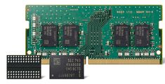 #itark #it #interesting #hardware #memory #Samsung Компания Samsung Electronics объявила о начале массового производства передовых микрочипов памяти DDR4 (Double-Data-Rate-4) DRAM, обладающих ёмкостью 8 Гбит.  Утверждается, что впервые в отрасли задействована технология 10-нанометрового класса (1y-nm) второго поколения. По сравнению с методикой первого поколения удалось добиться улучшения ключевых показателей. В частности, новые чипы демонстрируют увеличение быстродействия приблизительно на…