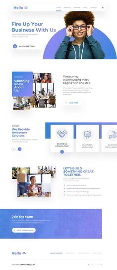 Best 20 website design ideas for the perfect making website layout design or web… - Design Website Design Inspiration, Best Website Design, Site Web Design, Creative Web Design, Wordpress Website Design, Web Design Trends, Web Design Company, App Design, Design Ideas
