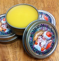 Santa's Special Blend Mustache Wax--Limited Edition