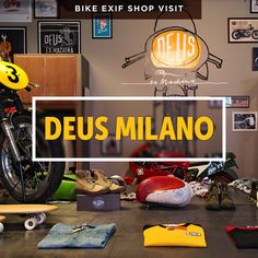 Welcome to a new series on the world's best motorcycle shops. We're kicking off with Deus Milano, because this week is EICMA week—when Milan hosts the world's most exciting motorcycle show.  When you tire of the maddening crowds, take the subway to Isola, Milan's famed 'motorcycle district.' It's an oasis of charm in an otherwise unprepossessing city, and the home of Deus Milano—a stylish refuge containing a workshop, a retail store and a restaurant.