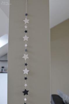 loveandlilies.de // Sternengirlande / Star Garland