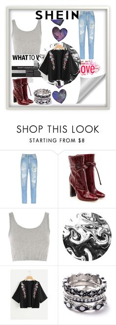 """""""Salash"""" by young-and-freeeee on Polyvore featuring Amapô, Malone Souliers, Topshop and WithChic"""