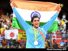 India Shining With PV Sindhu's Silver In Badminton At Rio Olympics…