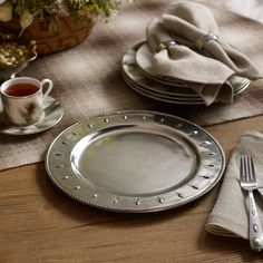 Brenna Concho Charger - Serving Pieces  Tabletop - RalphLauren.com