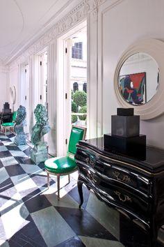 KELLY WEARSTLER   INTERIORS. Hillcrest Estate, Foyer