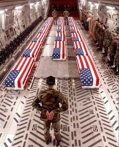 Fallen soldiers that have been brave enough to protect our nation.  Never forget the cost of freedom.  The true heroes.  Thank you for your sacrifice.