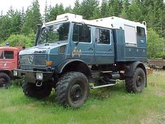 I love trucks that look they could do anything, like a swiss army truck.
