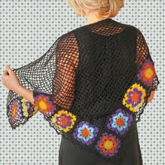 Wild Flower Shawl free Tutorial