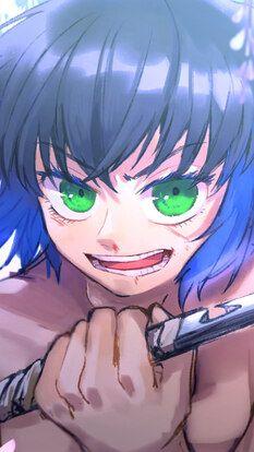 Inosuke Hashibira, Kimetsu no Yaiba, HD Mobile and Desktop wallpaper resolutions. Otaku Anime, Wallpaper Backgrounds, Iphone Wallpaper, Fanart, Anime Lindo, Perfect Wallpaper, Slayer Anime, Kuroko, Hello Everyone