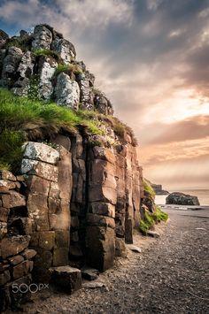 Droge SteenDublin IerlandReizen Landscapes Scotland).