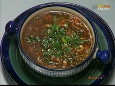 ▶ Hot & Sour Vegetable Soup - Sanjeev Kapoor - Khana Khazana - YouTube