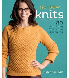 F and W Media-Interweave Press: No Sew Knits. Learn how to knit a sweater seamlessly. Through clever planning and some simple techniques, these knitting projects are shaped and joined as you go. All w