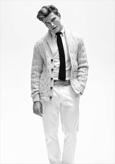 """Oliver Cheshire at Select Models in """"Oliver, Circa 2014"""" by Arnaldo Anaya Lucca for the Spring Summer 2014 Issue (#11) of Client Magazine"""