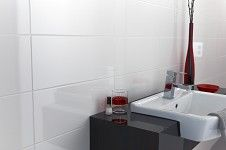 Opaque Flat Gloss White Tile