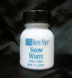 Ben Nye Liquid Hair Color Ears Realistic For Stage Or Film Snow White Can Be