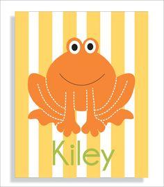 make frog prints with names above hooks in K's bathroom Frog Bathroom, Baby Bathroom, Bathroom Wall Art, Bathroom Ideas, Art For Kids, Crafts For Kids, Childrens Bathroom, Kids Bath, Creative Outlet