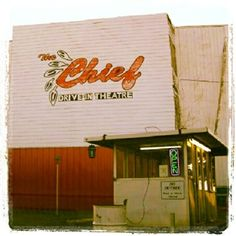 Chief Drive-In Theater, Chickasha, Oklahoma...YES, it is still open in 2013!