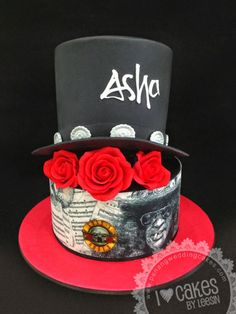 Slash (Guns N Roses) Cake
