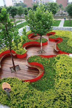urban park design - Google Search