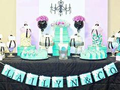 Cake Table-Tiffany&Co