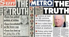 Silence won't save the liars who defamed the football fans at Hillsborough