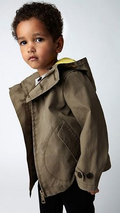 cutest kid ever in a burberry ad
