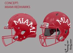 Concept: Miami RedHawks helmet