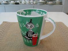 Tämä :) Moomin Mugs, Global Market, Cute Mugs, Marketing, Tableware, Green, Cups, Dinnerware, Mugs