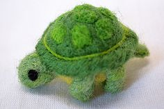 Felted Tortoise Made by Uniquekerer, Goldfishdreams, Handmade, Crafted, OOAK, Beautiful, Unique, Needle Felting,