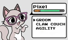 The GaMERCaT » Characters