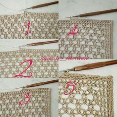 Delight yourself: The beautiful crochet details on the tablecloth - - Gilet Crochet, Crochet Lace Edging, Crochet Borders, Crochet Diagram, Irish Crochet, Crochet Patterns, Basic Embroidery Stitches, Crochet Stitches, Diy Crafts Crochet