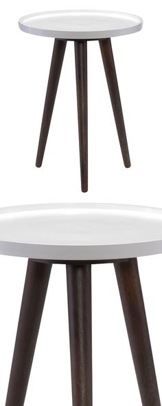 Choose an end table that's the be-all and end-all of design. This unique piece is crafted with solid acacia wood and topped with a chic white tray. Inspired by mid-century furnishings, this design is p...  Find the Oren End Table, as seen in the A Natural & Contemporary Villa in Portugal Collection at http://dotandbo.com/collections/a-natural-and-contemporary-villa-in-portugal?utm_source=pinterest&utm_medium=organic&db_sku=122812