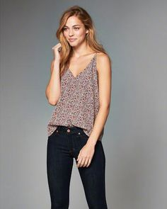 c95f45c147 Womens Clearance | Abercrombie.com All American Clothing, Womens Clearance, Tank  Top Shirt