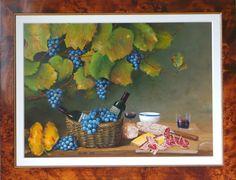 Reben und Wein 75 x 75