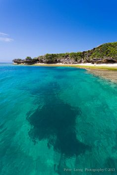 Okinawa blue ocean, Japan