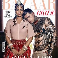 Mariana m - hair for sonakshi sinha n male model for bazaarbride# #hairstyles #hairstylist #bazaarbride#harpers#coverstory#cover#toabhartist