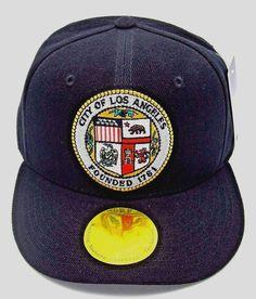 Los Angeles Snapback Cap Hat La City Caps Hats Kings Lakers Dodgers Black  Nwt 20644b16bef
