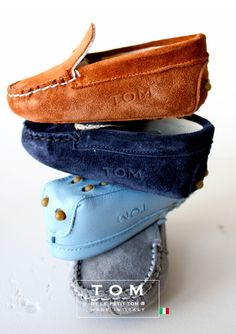 TOM by Le Petit Tom ® MOCCASIN  7tom brown - CJ may have to get an international baby gift! @Laura Jayson O'Neal