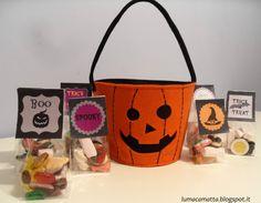 Sacchetti di caramelle per Halloween @ Lumaca Matta
